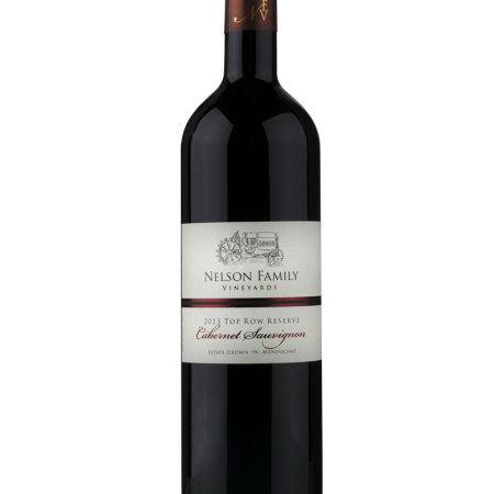 Nelson Family Vineyards 2013 Top Row Reserve Cabernet Sauvignon